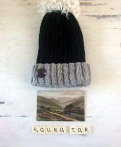 Hound Tor Hat with Pom Pom