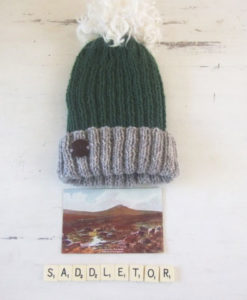 Saddle Tor Hat with Pom Pom