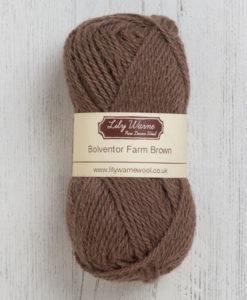 Bolventor Farm Brown Wool