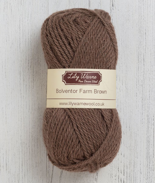 Bolventor Farm Brown Wool