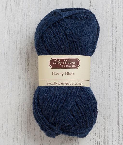 Bovey Blue Wool