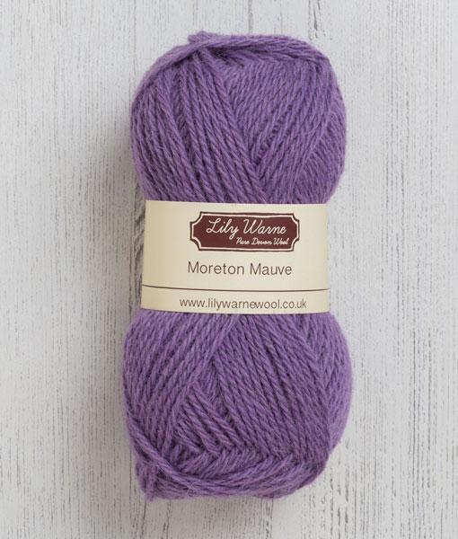 Moreton Mauve Wool