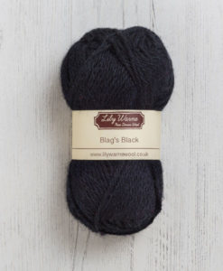 Blags Black Wool