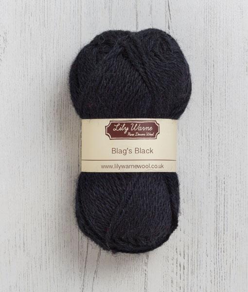 Blags Black Wool