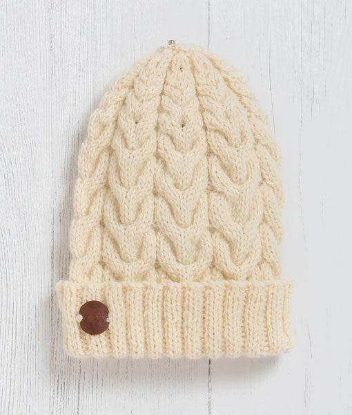 Chagford Crem Pom Pom Hat