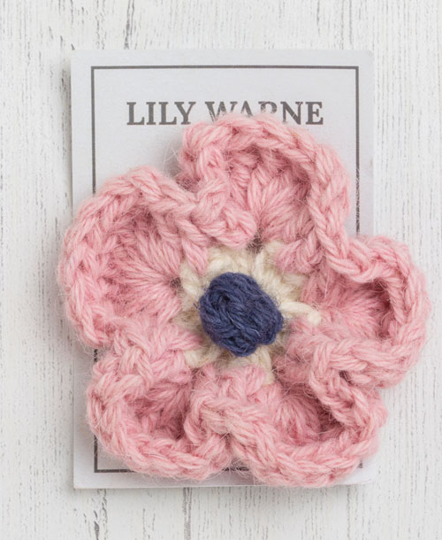 jack brooch in postbridge pink