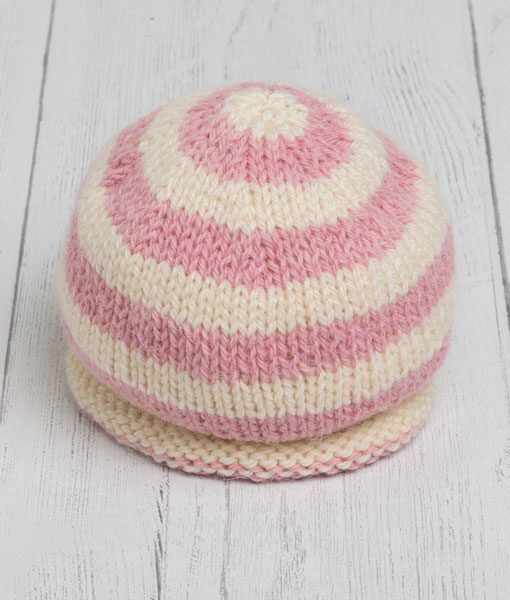 Lily Lamb Hat - Pink