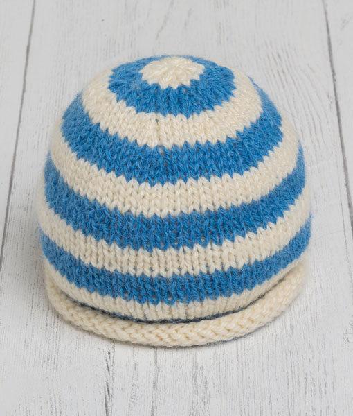 Lily Lamb Hat - Blue