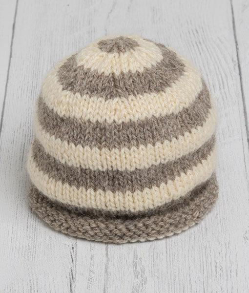 Lily Lamb Hat - Grey