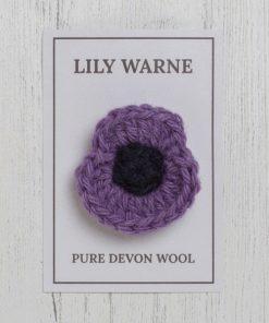Petite Poppy brooch