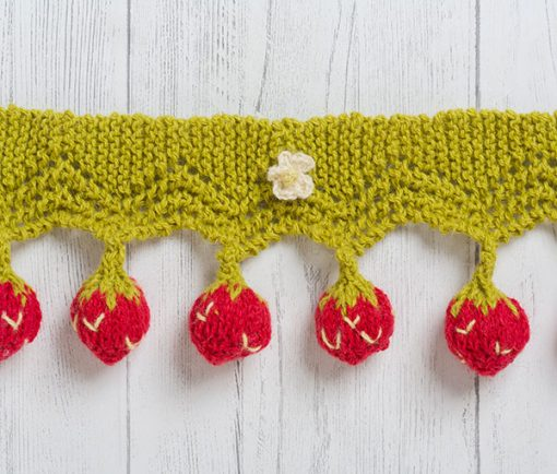 strawberry-bunting