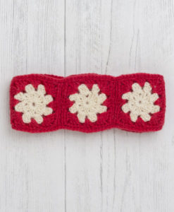 Festive Headband - Scarlet