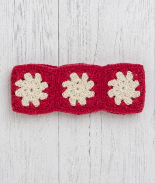 Festive Headband – Scarlet