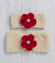Ewe and Lamb Pure Devon Wool Moss Stitch Headband Kit