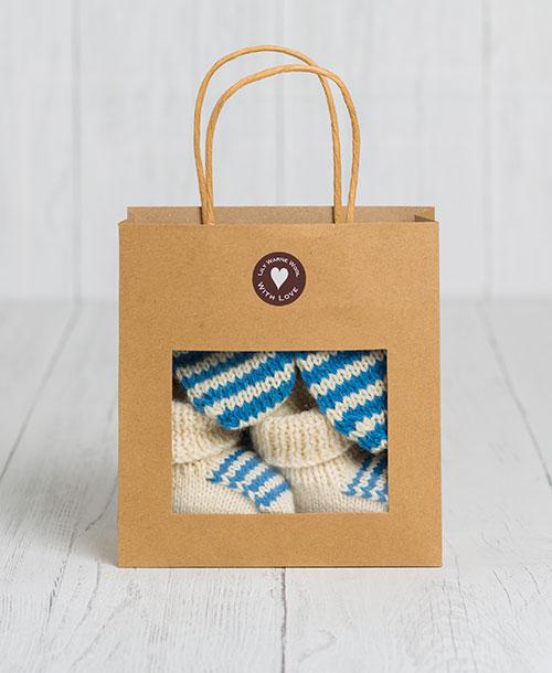 Little Lambs Gift Set - Bellever Blue