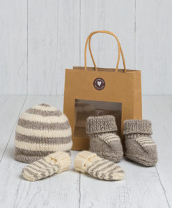 Little Lambs Gift Set - Granite Grey