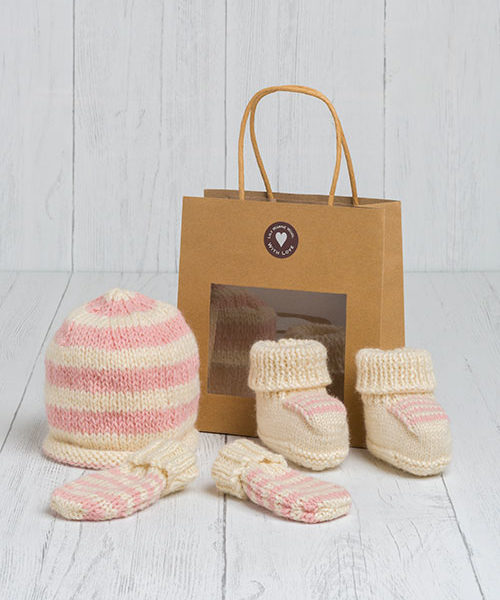 Little Lambs Gift Set – Postbridge Pink