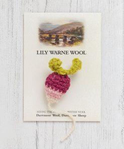 Little Basket of Wool Brooch