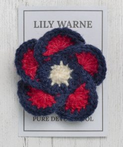 Bovey Blue VE Day Brooch