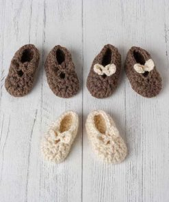 Lily Lamb Sweet Bow Slippers