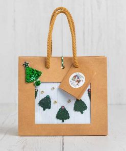 Crochet Your Own Christmas Tree Bunting