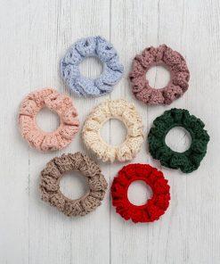 Cotton Scrunchies