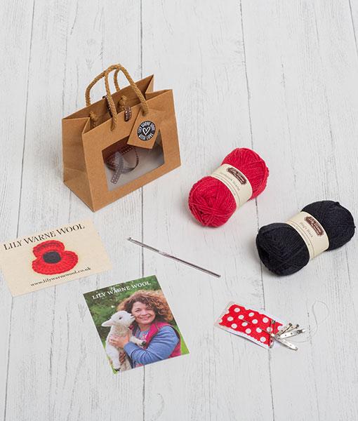 Crochet your own Poppy Kit