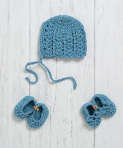 Lily Lamb Newborn Gift Set Bluebell