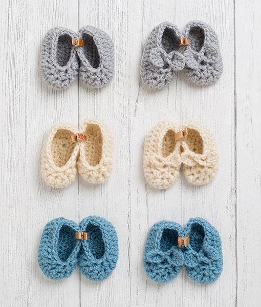 Lily Lamb Newborn Slipper