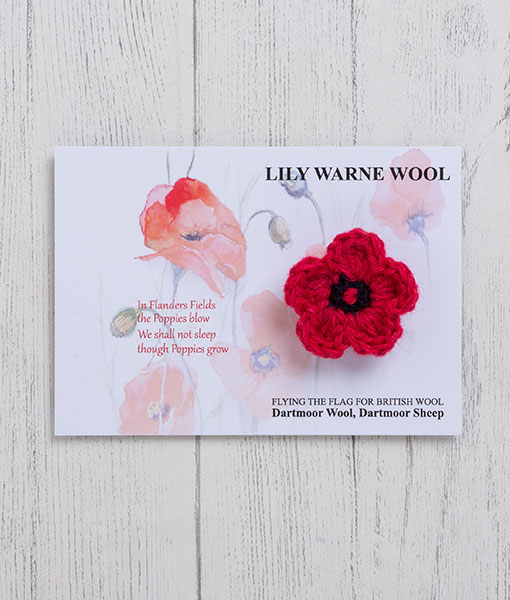 Remembrance Flower brooch